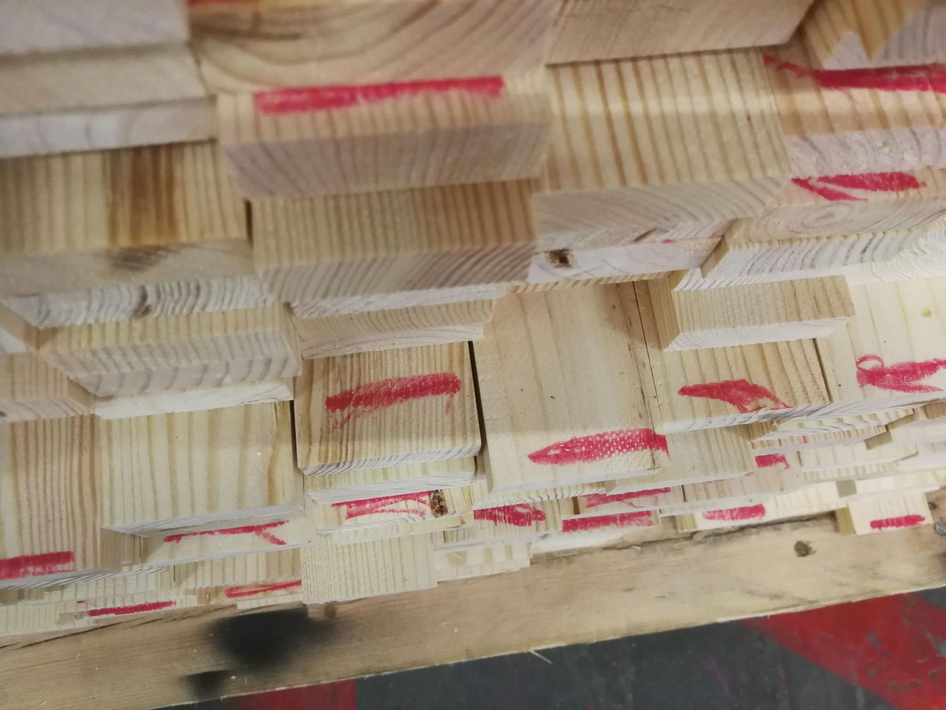 Quality control of fascia board defects
